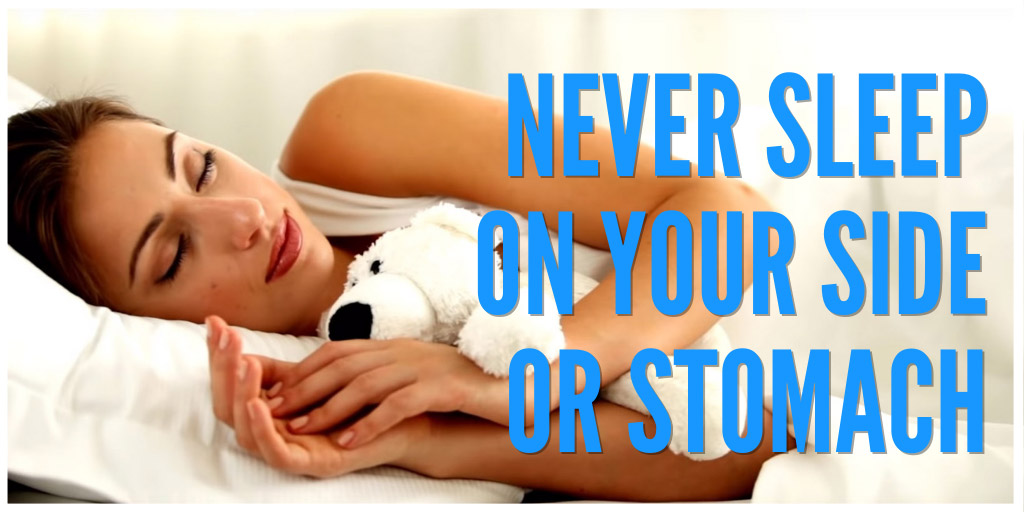 Never Sleep On Your Side Or Stomach: 5 Reasons Why - BRIGHT SIDE