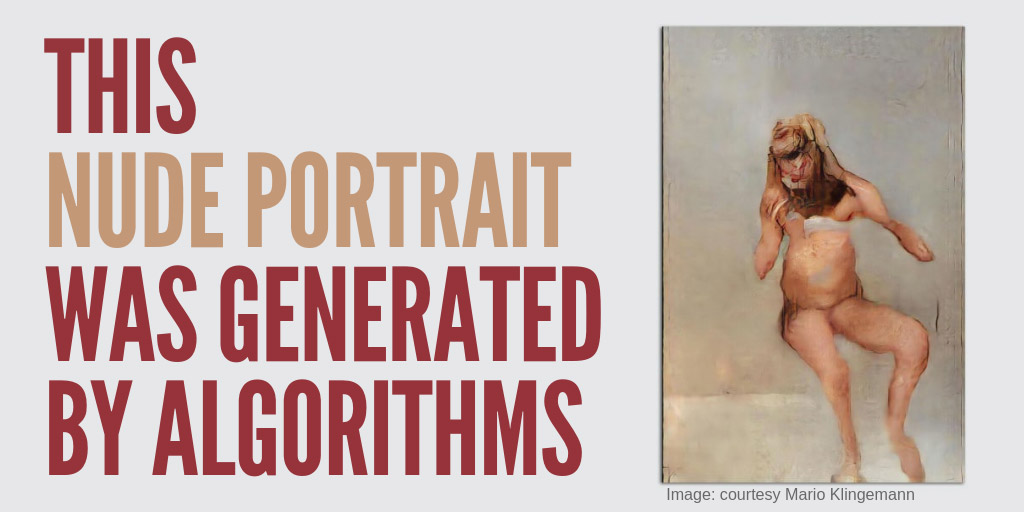 This nude portrait was generated by algorithms - Fast Company