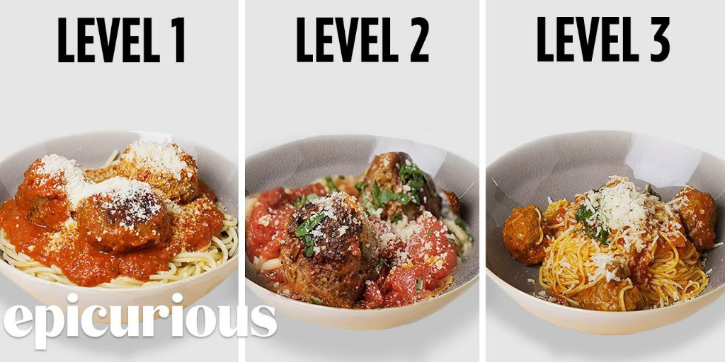 3 Levels of Spaghetti & Meatballs: Amateur to Food Scientist - Epicurious