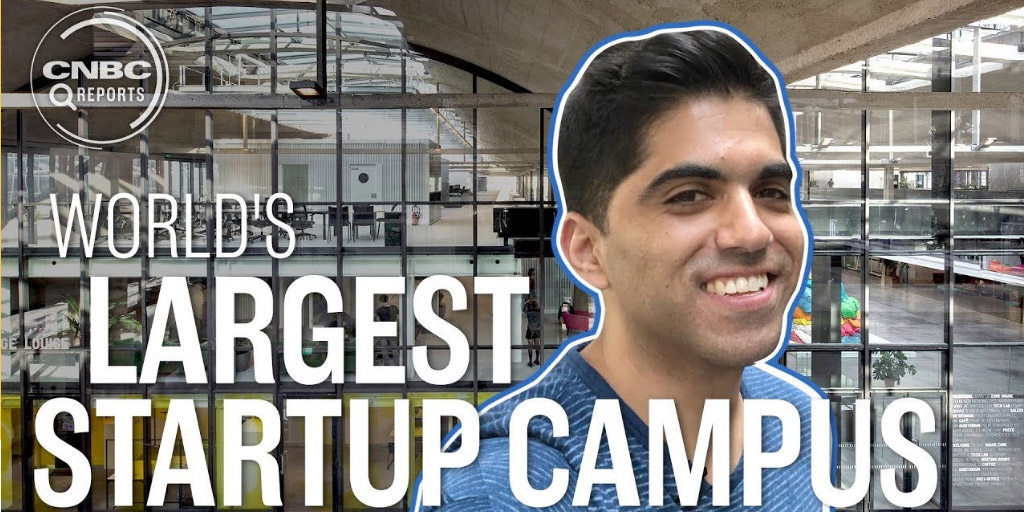 Inside the world's largest startup campus
