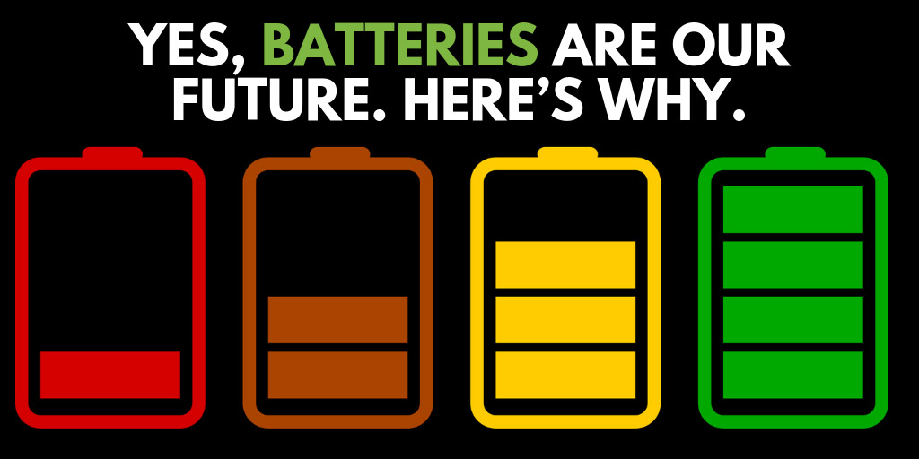 Yes, Batteries Are Our Future. Here's Why. - ColdFusion