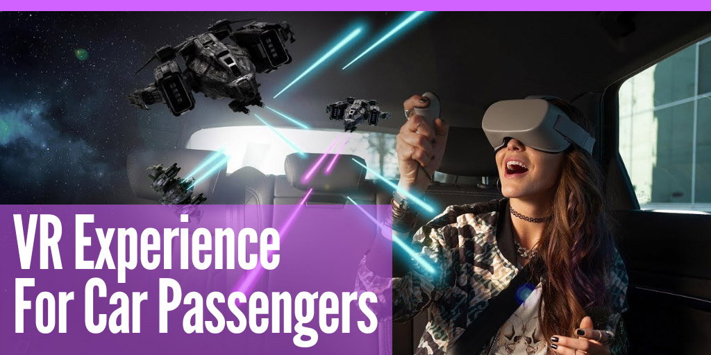 VR experience for car passengers