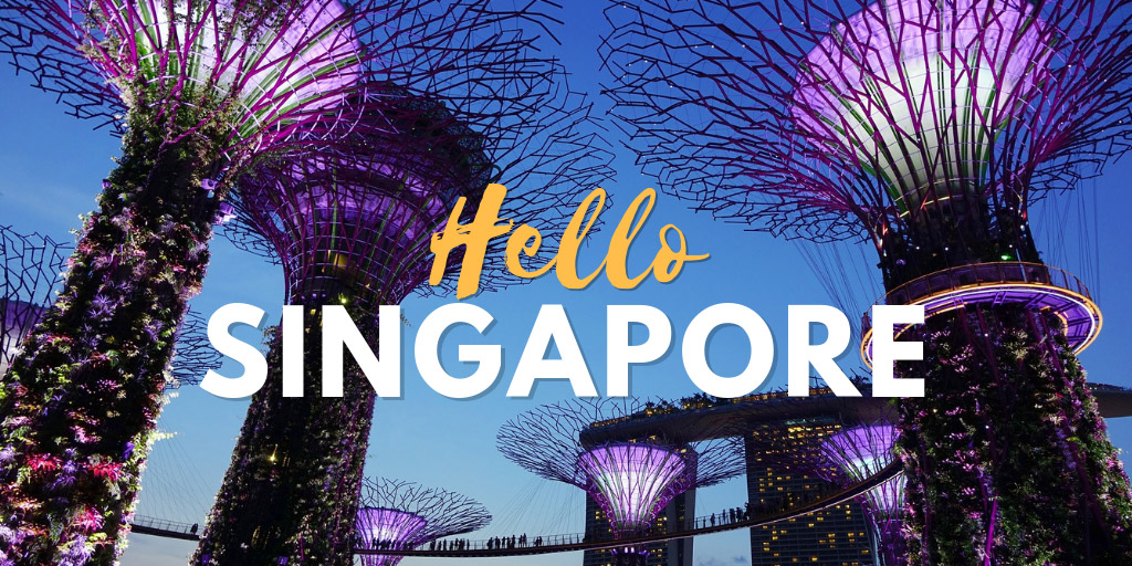 Hello Singapore - Tyler Fairbank