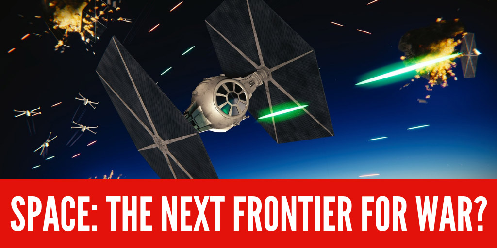 Space: the next frontier for war? - The Economist
