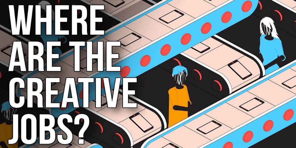 Where Are the Creative Jobs? - The School of Life