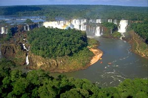 The Iguazu or Iguassu Falls, Argentina