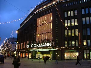 The Stockmann department store in the centre of Helsinki, Finland
