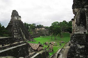 Temple I in Tikal, Guatemala - Photographer: Bruno Girin