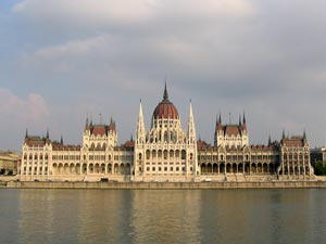 Parliament building, Budapest - Photographer: Dirk Beyer