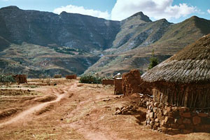 Malealea Village in the Highlands of Lesotho - Photographer: Eckhard Pecher