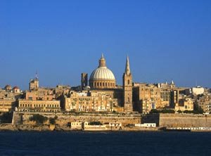 Valletta skyline, Malta - Photographer: Andy Gilham