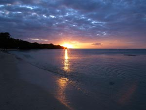 Sunset, Mauritius - Photographer: Tim Parkinson
