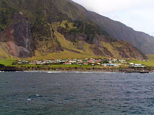 Edinburgh of the Seven Seas on Tristan da Cunha, Saint Helena - Photographer: Astrotrain