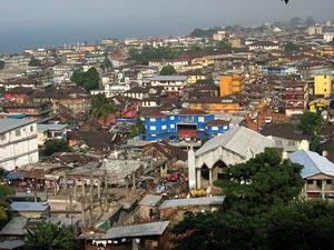 Freetown, Sierra Leone - Photographer: Magnus Ohman