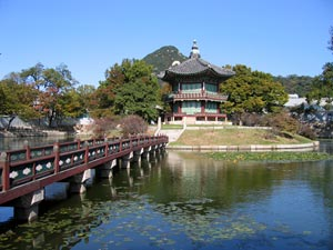 Gyeongbok-gung palace - Seoul, South Korea