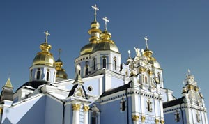 Church in Kiev, Ukraine - Photographer: Ignas Kukenys