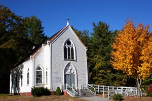 Sacred Heart Church in Newfields, New Hampshire, USA - Photographer: Jim Richmond