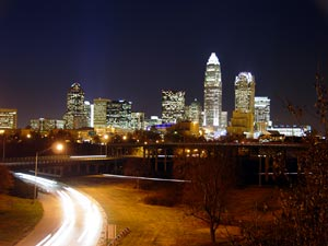 Charlotte skyline, North Carolina, USA