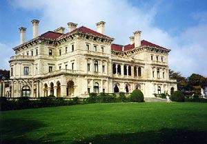 The Breakers from the rear, Newport, Rhode Island, USA - Photographer: Stan Shebs