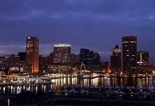 Baltimore Inner Harbor - Photographer: ktylerconk