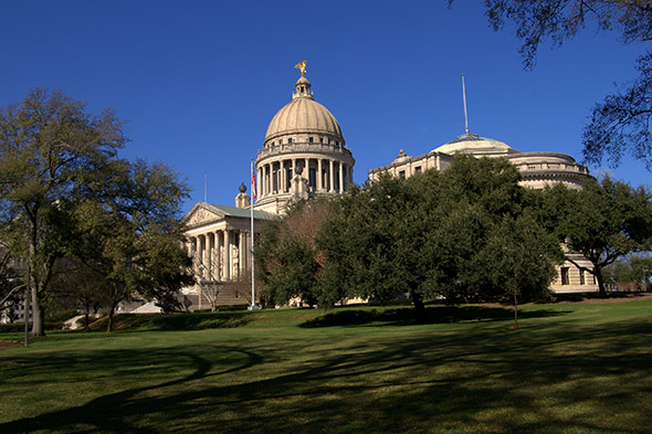 Mississippi State Capitol - Photographer: Stuart Seeger