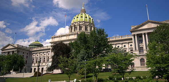 Pennsylvania State Capitol - Photographer: Jim Bowen
