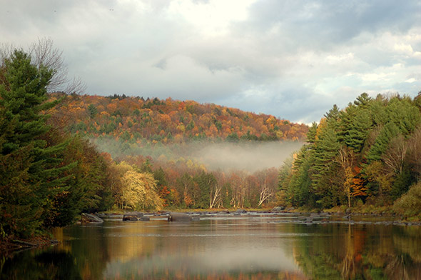 Lamoille River - Photographer: Yvonne Brown