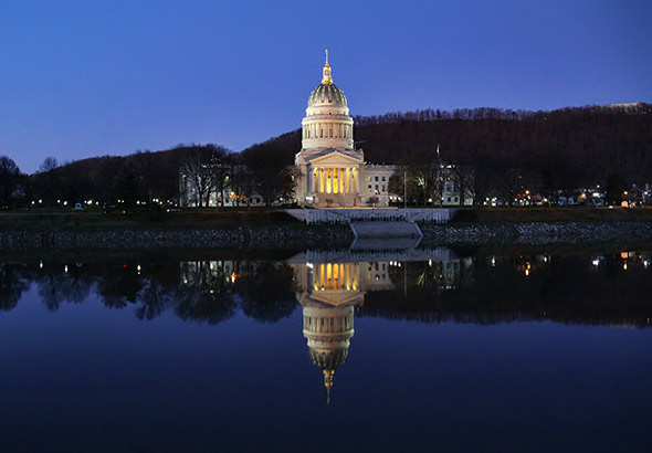 West Virginia State Capitol - Photographer: O Palsson