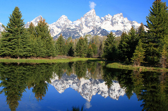 Grand Tetons - Photographer: Frank Kovalchek