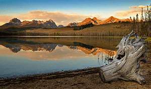 Little Redfish Lake - Photographer: Charles Knowles